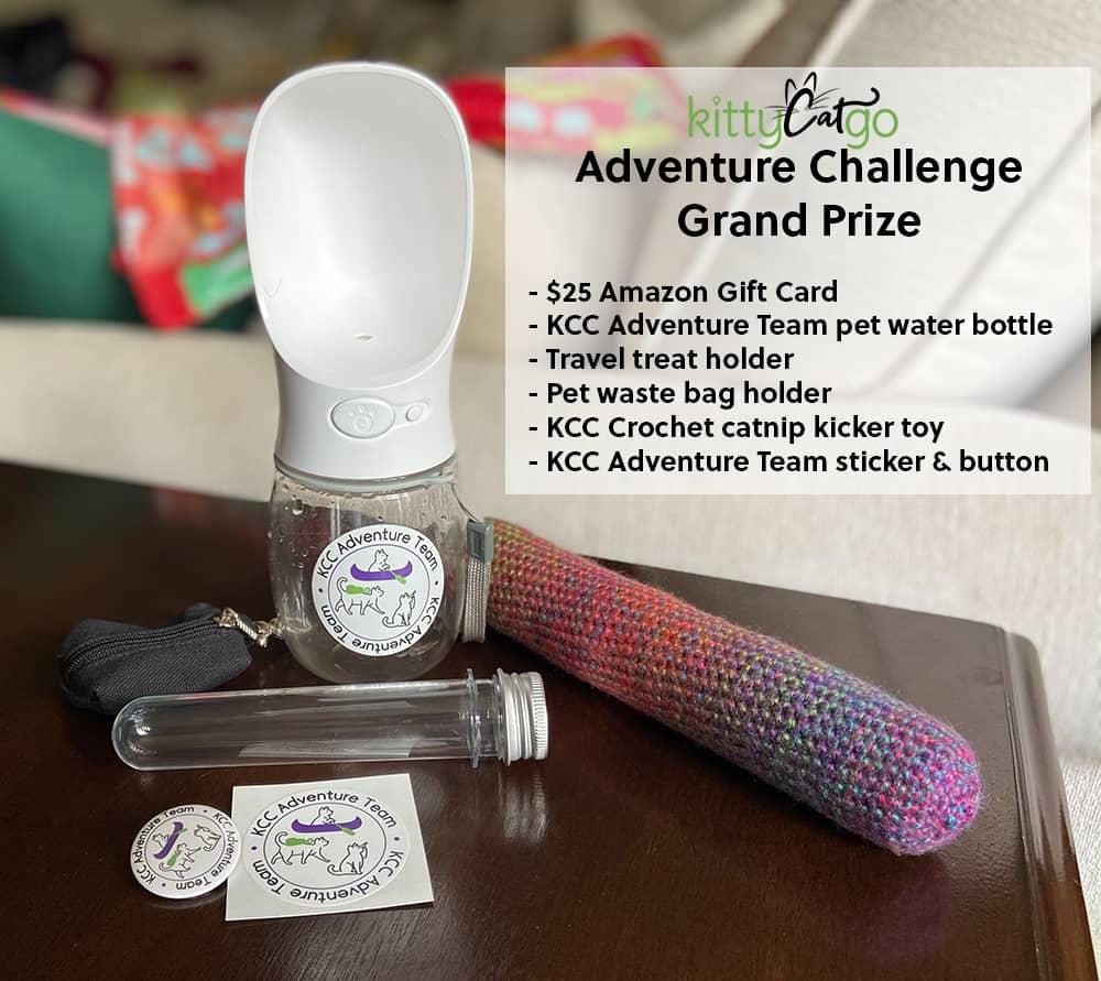 KittyCatGO Adventure Challenge Prize List